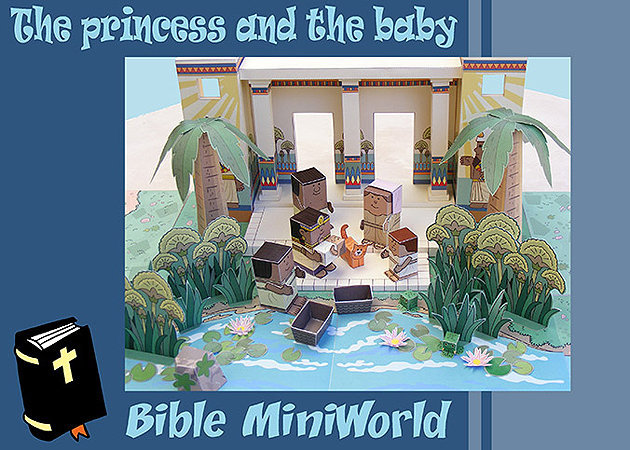 the-princess-and-the-baby-bible-miniworld -kit168.com