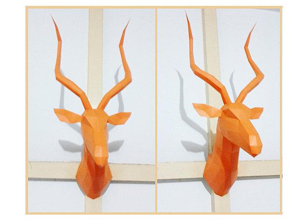 impala-head-wall-hanging -kit168.com