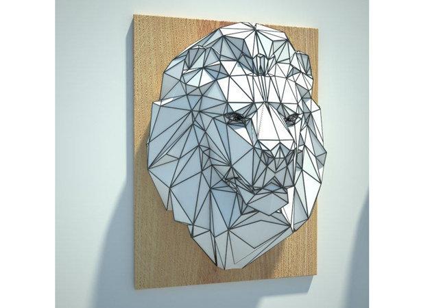 lion-head-wall-hanging -kit168.com