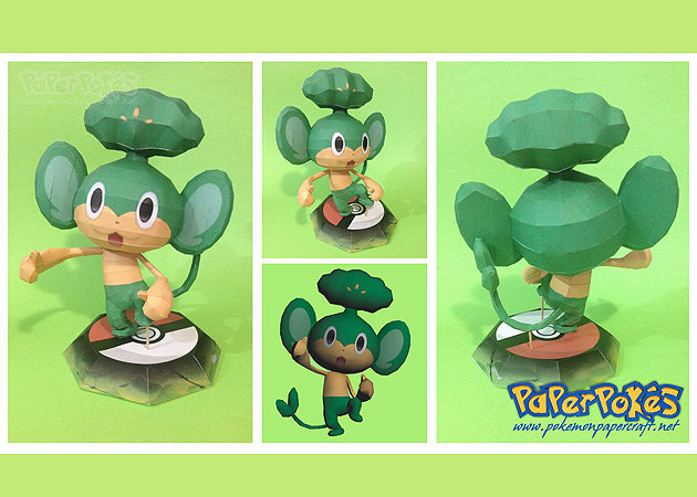 pokemon-pansage -kit168.com