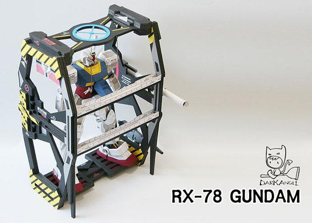 rx-78-gundam-with-maintenance-bracket -kit168.com