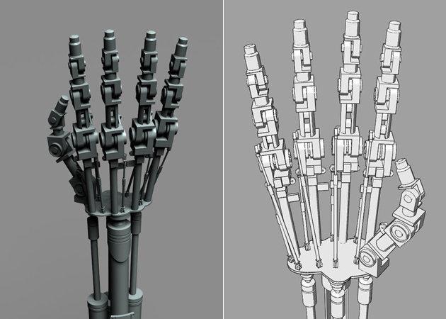 terminator-t-800-endoskeleton-hand-terminator-1 -kit168.com