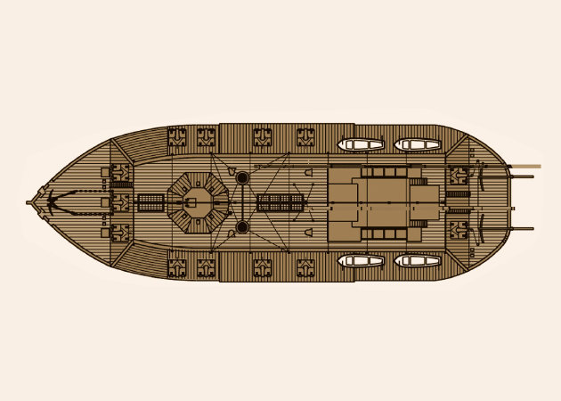 american-civil-war-ironclad-river-gunboat-uss-cairo-2 -kit168.com