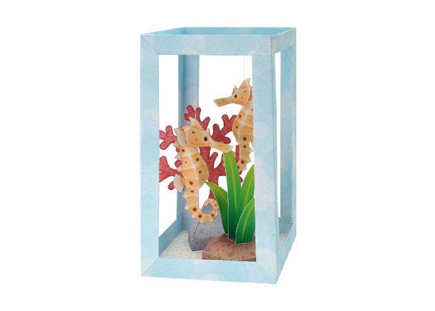 paper-aquarium-seahorse -kit168.com