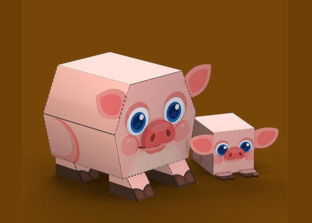 farm-piggy-pink-1 -kit168.com