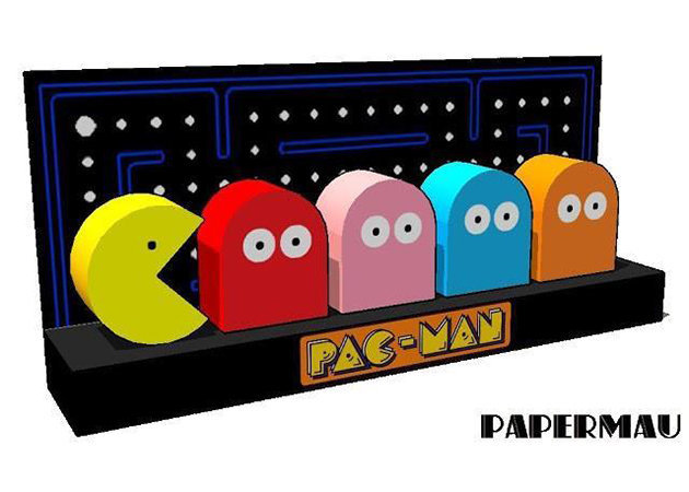 pac-man-diorama -kit168.com