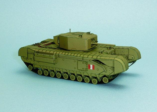 wwii-churchill-mk-iii-heavy-infantry-tank-1 -kit168.com