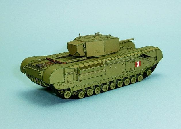 wwii-churchill-mk-iii-heavy-infantry-tank-2 -kit168.com
