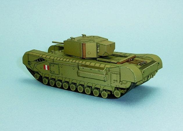 wwii-churchill-mk-iii-heavy-infantry-tank-3 -kit168.com