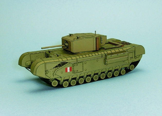 wwii-churchill-mk-iii-heavy-infantry-tank -kit168.com