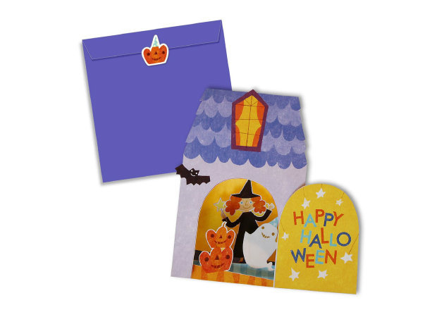 halloween-house-card-set -kit168.com