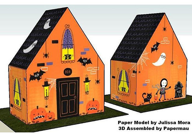 haunted-house-treat-box-halloween -kit168.com