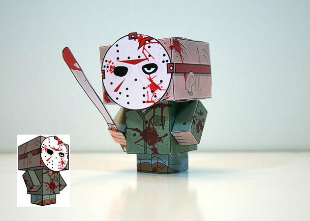 jason-voorhees-cube-craft-friday-the-13th -kit168.com
