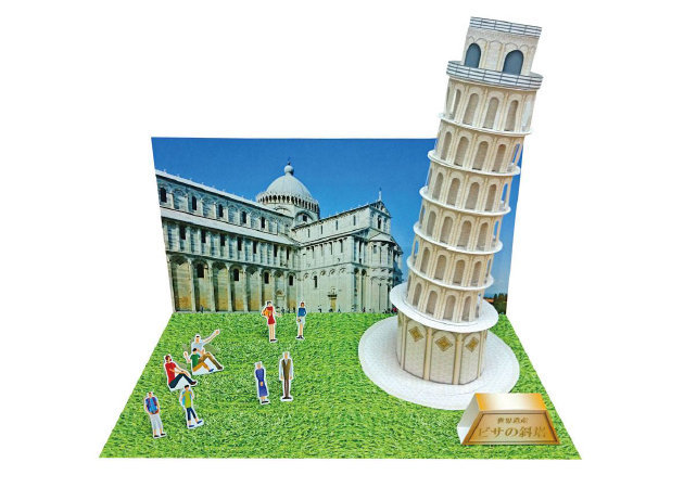 leaning-tower-of-pisa-diorama -kit168.com