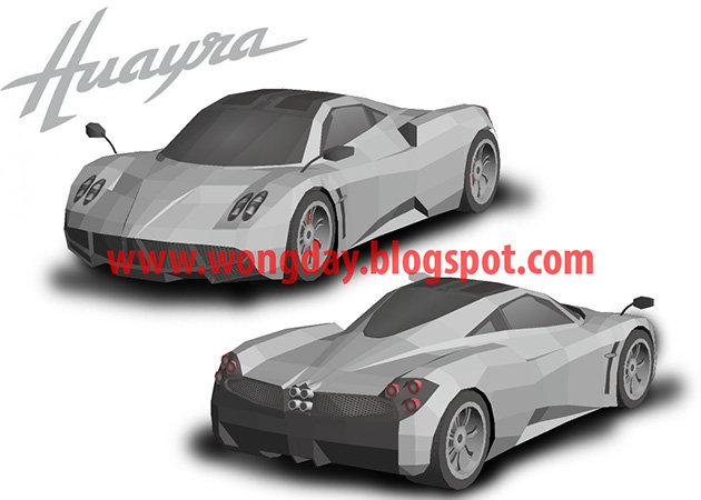 pagani-huayra -kit168.com