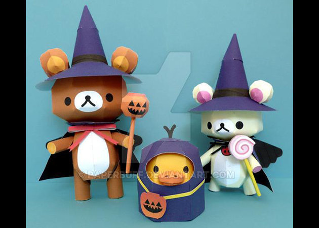 rilakkuma-and-friends-halloween -kit168.com