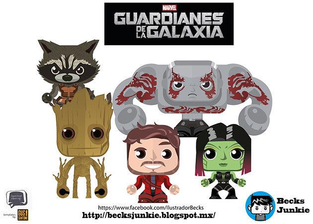 chibi-guardians-of-the-galaxy-mini -kit168.com