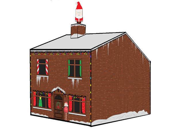 christmas-house-cubee -kit168.com