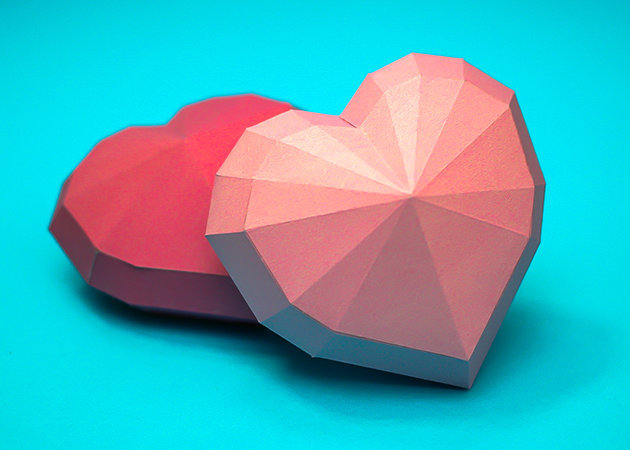 heart-shaped-valentine -kit168.com