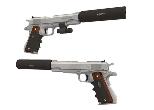 pistol-colt-m1911 -kit168.com