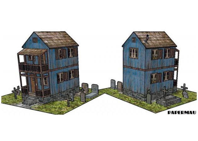 the-cemetery-keeper-spooky-house-1 -kit168.com