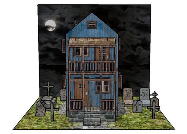 the-cemetery-keeper-spooky-house-2 -kit168.com