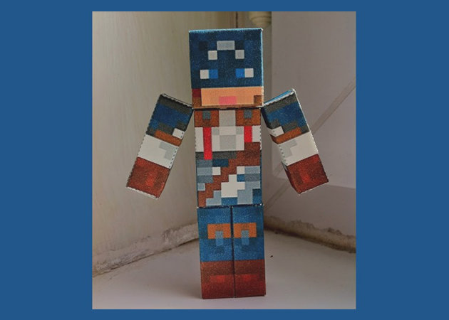 captain-america-minecraft-style -kit168.com