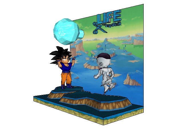 chibi-goku-vs-freezer-dragon-ball-2