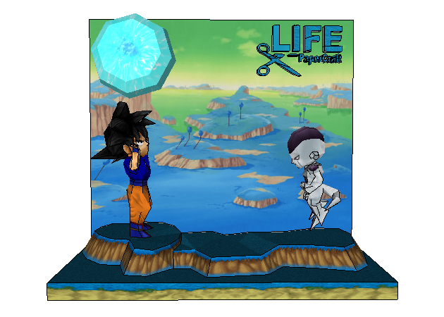 chibi-goku-vs-freezer-dragon-ball