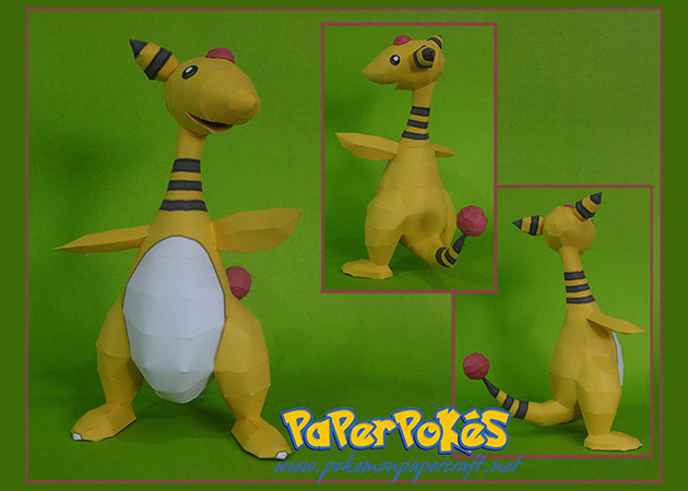 pokemon-ampharos -kit168.com