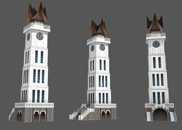 thap-dong-ho-clock-tower-indonesia-kit168-com