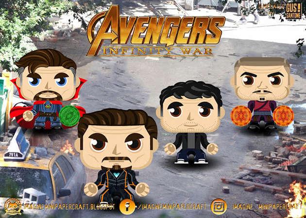 Bruce-Banner-Doctor-Strange-Tony Stark-Wong-Avengers-Infinity-War-kit168.com