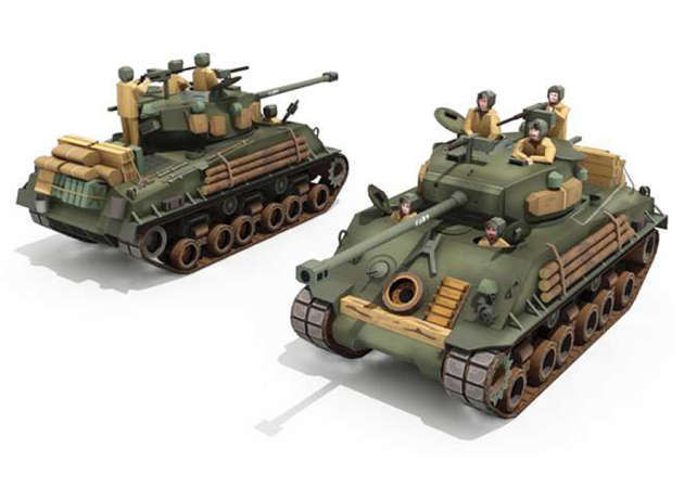 sherman-fury-m4a3e8-kit168.com